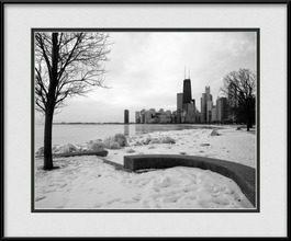 chicago-winter-framed-photo