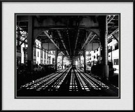 framed-print-of-geometric-shadows-under-the-l-tracks