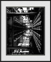 black-white-chicago-skyline-art