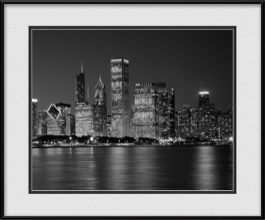 framed-print-of-cubs-championship-win-on-chicago-skyline
