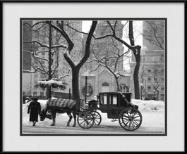 framed-print-of-chicago-water-tower-during-winter-season