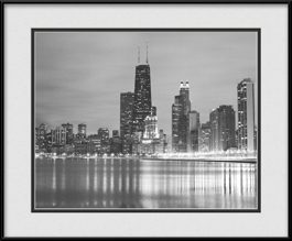 john-hancock-building-framed-picture