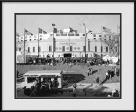 old-soldier-field-last-game-framed-picture