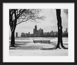 framed-print-of-chicago-winter
