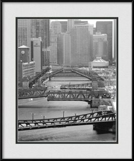 chicago-river-chicago-bridges-up-framed-picture
