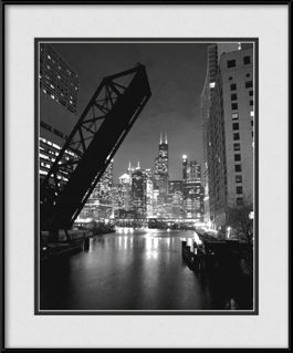 framed-print-of-chicago-skyline-art