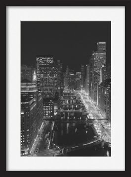 framed-print-of-river-north