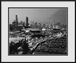 framed-print-of-aerial-from-mccormick-place