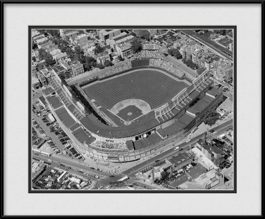 framed-print-of-chicago-cubs-ballpark-black-white