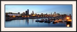 chicago-skyline-at-dusk-from-burnham-harbor-framed-picture