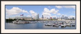 Black Amp White Buckingham Fountain Chicago Skyline Framed