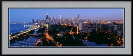 framed-print-of-chicago-dusk-from-lincoln-park