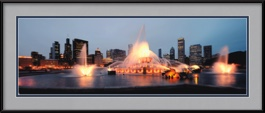 picture-of-buckingham-fountain-chicago-skyscrapers