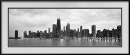 picture-of-north-avenue-beach-black-white-chicago-skyline
