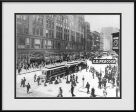 picture-of-chicago-old-state-street-cars