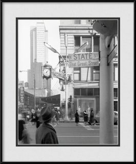 framed-print-of-historic-marshall-field-clock-tower-state-street-1960s