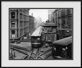 framed-print-of-old-cta-train-cars-vintage-cta-logan-square
