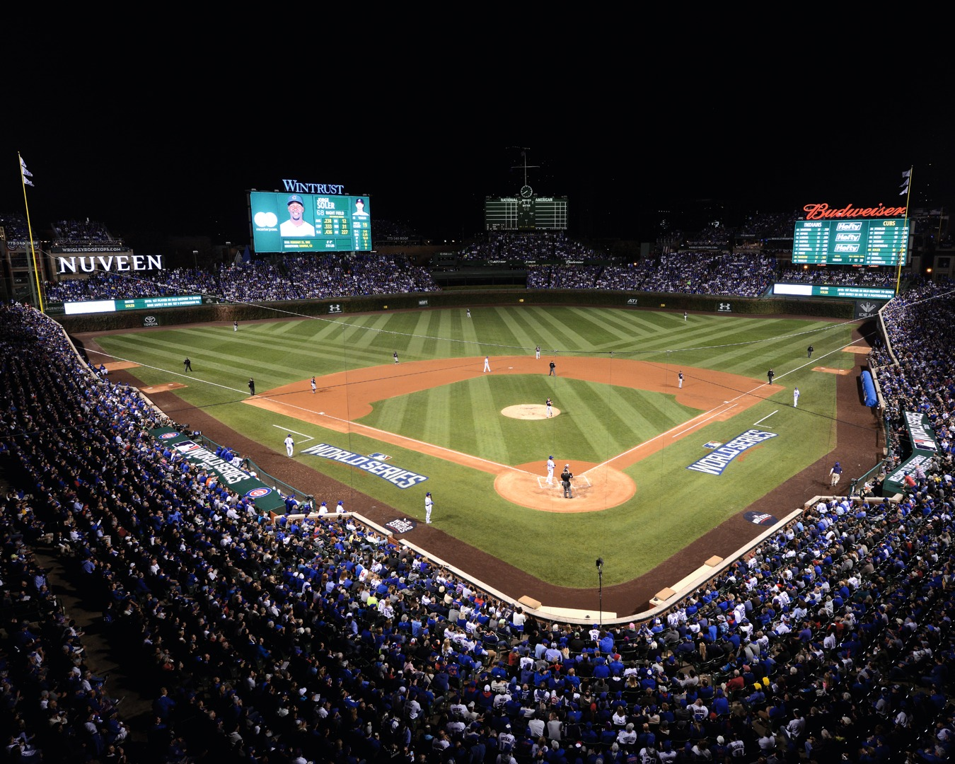Wrigley Is Rocking Chicago Cubs 2016 World Series