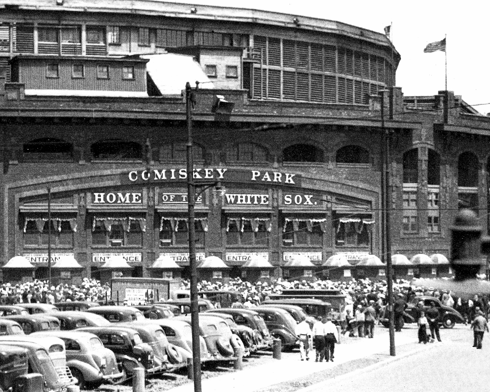 Old Historic Comiskey Park Chicago White Sox Chicago