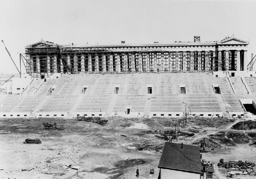 Old Soldier Field Stadium