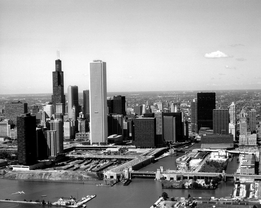 The S Curve Of Lake Shore Drive Black Amp White Chicago