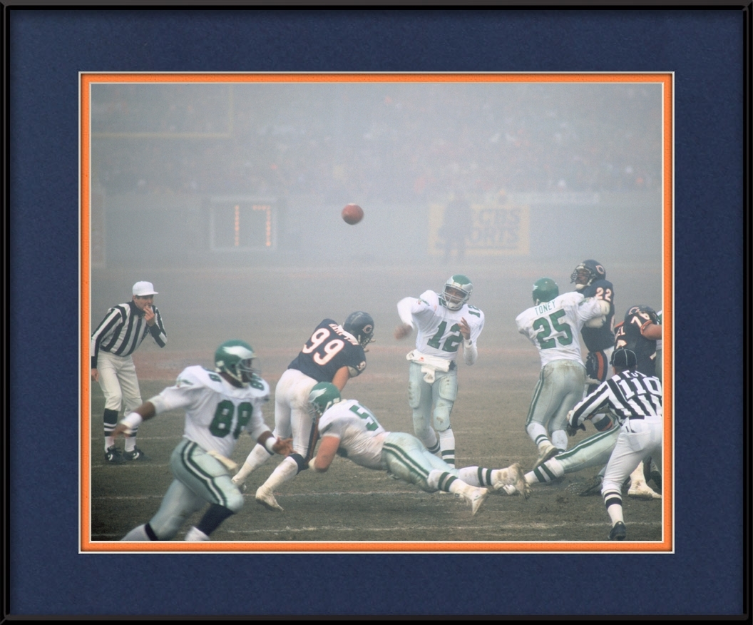 7a668d18 The Fog Bowl - Chicago Bears Classic | Chicago Bears Framed Print